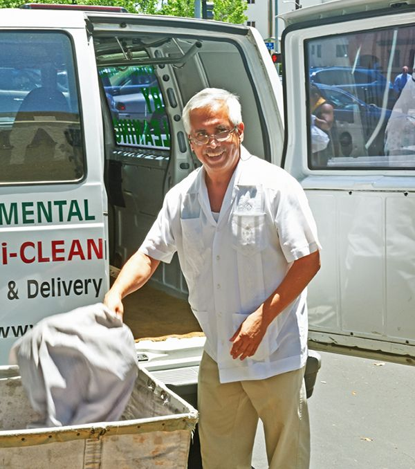 Dry Cleaners Pick Up Service