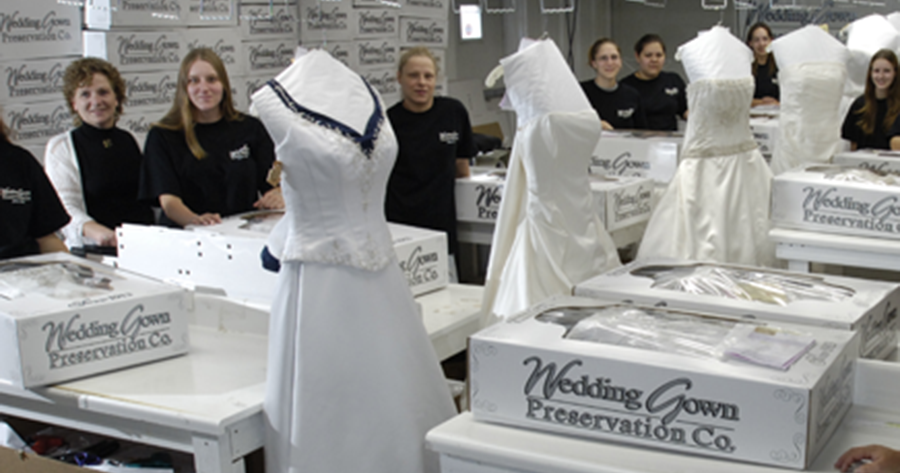 Wedding Gown Preservation A Carriage Regal Cleaner